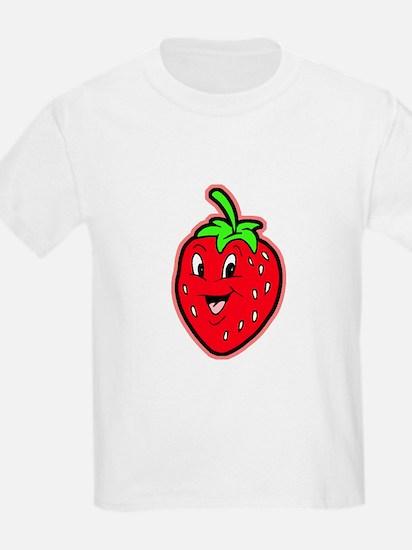 Happy Strawberry Kids T-Shirt