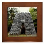 Great Western Iron Furnace Framed Tile