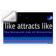 Universal Law of Attraction Wall Decal