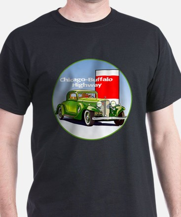 The Chicago Buffalo Highway T-Shirt