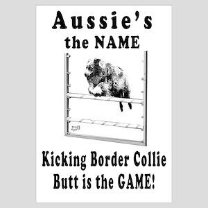 Aussies Kick Butt-Agility Humor