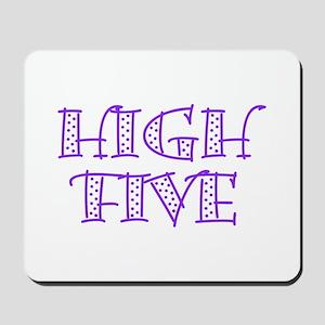 HighFive_Purple Mousepad