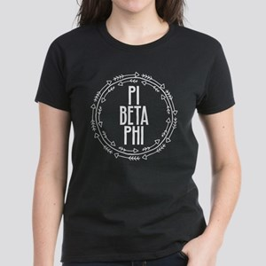Pi Beta Phi Arrows Women's Dark T-Shirt