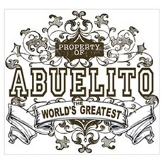 Property Of Abuelito Poster