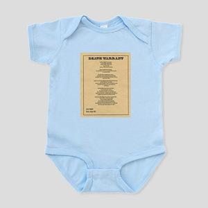 Hanging Judge Death Warrant Infant Bodysuit
