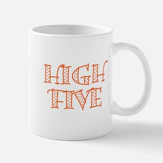 HighFive_Orange Mug