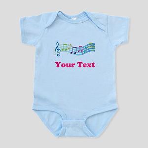 Music Personalized Cute Infant Bodysuit