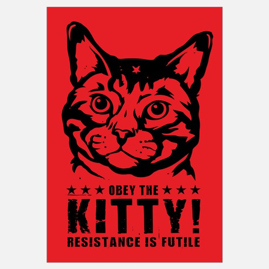 Obey the KITTY! Cat Revolution