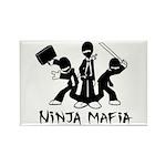 Ninja Mafia Rectangle Magnet
