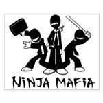 Ninja Mafia Small Poster