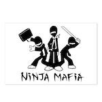 Ninja Mafia Postcards (Package of 8)