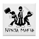 Ninja Mafia Tile Coaster
