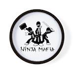 Ninja Mafia Wall Clock
