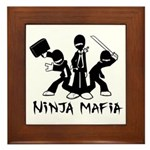 Ninja Mafia Framed Tile