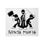 Ninja Mafia Throw Blanket