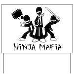 Ninja Mafia Yard Sign
