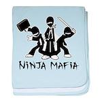 Ninja Mafia baby blanket
