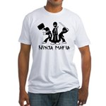 Ninja Mafia Fitted T-Shirt