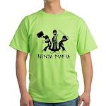 Ninja Mafia Green T-Shirt