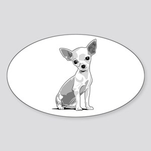 Chiuahua Sticker (Oval)