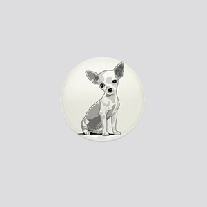 Chiuahua Mini Button