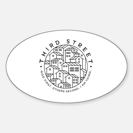 Cute Mcminnville Sticker (Oval)