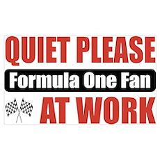 Formula One Fan Work Poster