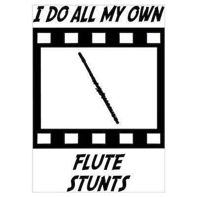 Flute Stunts Poster