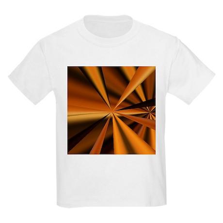 Gold Spikes Kids Light T-Shirt