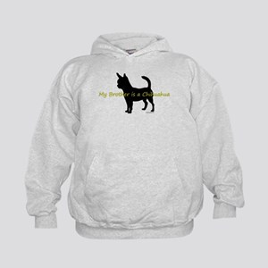 My Brother is a Chihuahua Kids Hoodie