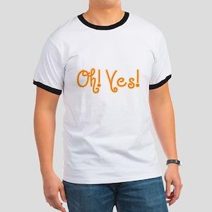 OhYes_Orange Ringer T