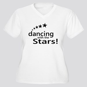 Dancing with the Stars Women's Plus Size V-Neck T-