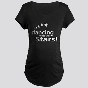 Dancing with the Stars Maternity Dark T-Shirt