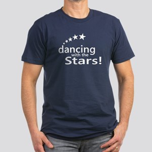 Dancing with the Stars Men's Fitted T-Shirt (dark)