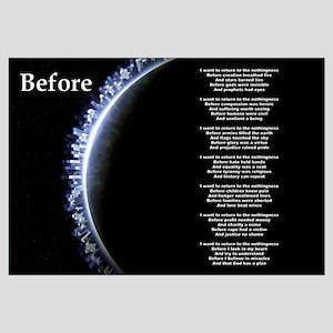 """""""Before"""" Poetic Print"""