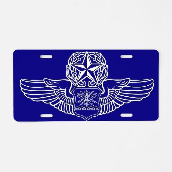 Nav/Bomb/WSO/EWO Aluminum License Plate