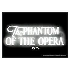 The Phantom of the Opera 1925 Poster
