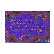 Waldorf kindergarten poem Poster