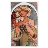 Mucha Wrapped Canvas Art