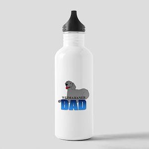 Weimaraner Dad Stainless Water Bottle 1.0L