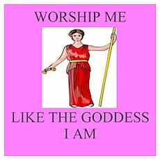 funny girl geek goddess Poster