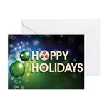Hoppy Holidays Greeting Cards (pack Of 10)