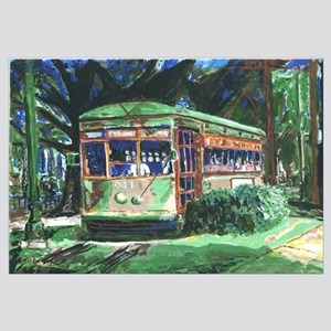 New Orleans Streetcar Painting Print