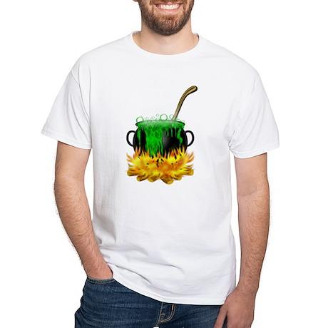 Bubbling Cauldron White T-Shirt