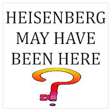 heisenberg physics Poster