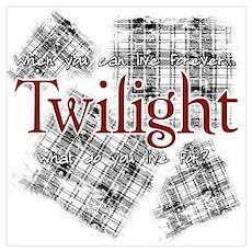 Twilight - Plaid Poster