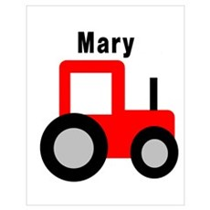 Mary - Red Tractor Poster