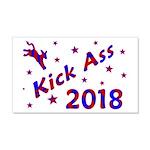 Kick Ass 2018 Wall Decal