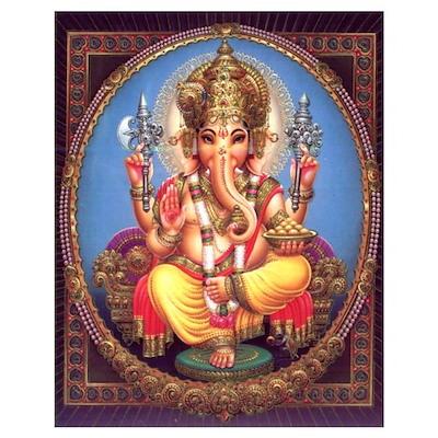 Ganesh Print Poster