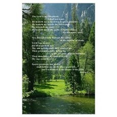 23rd Psalm Poster